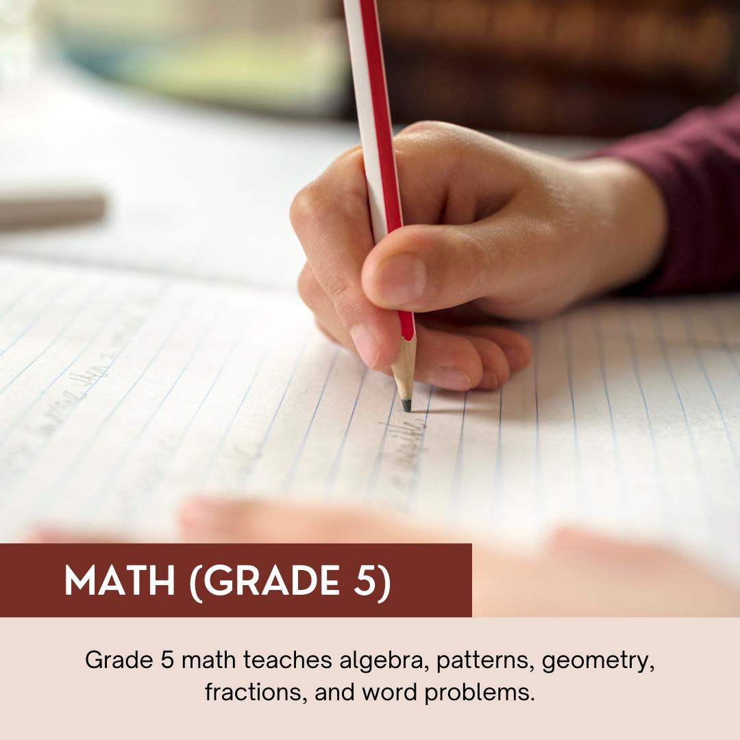 Math (Grade 5)