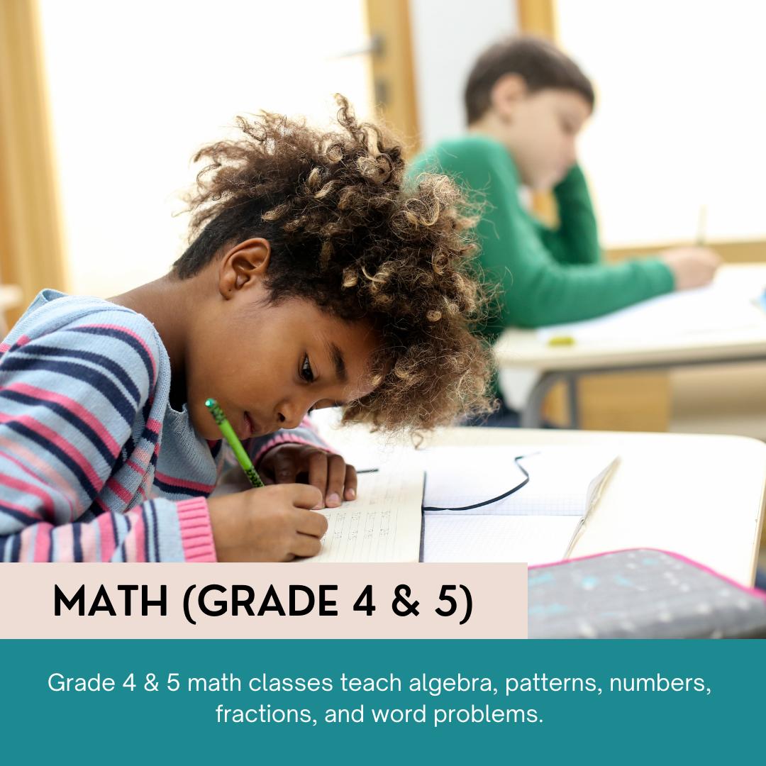 Math Grade (4 & 5)