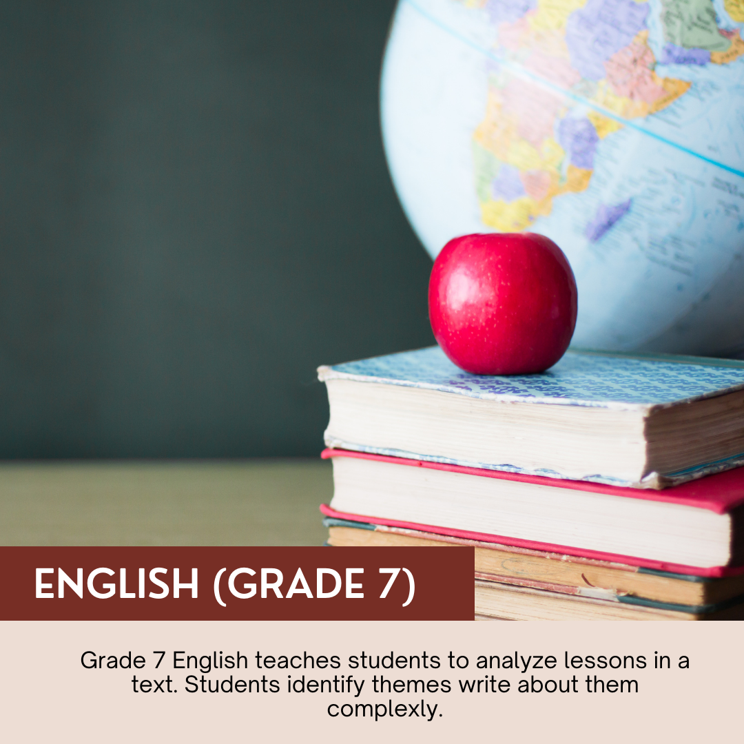 English (Grade 7)