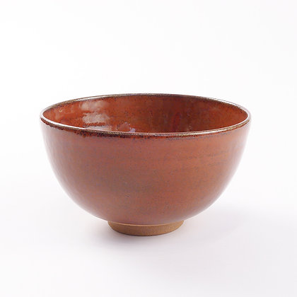 Chawan Red Glaze 1128
