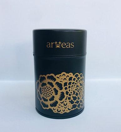 Artteas black canister