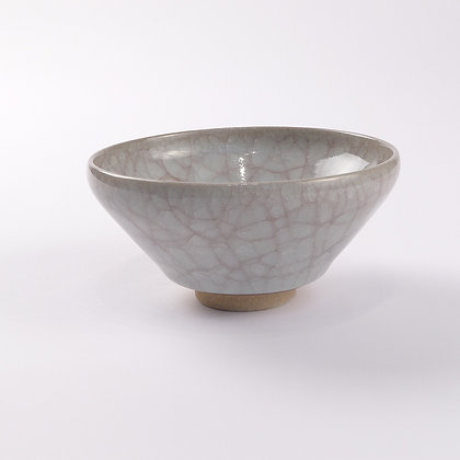 Chawan Cracked Glaze