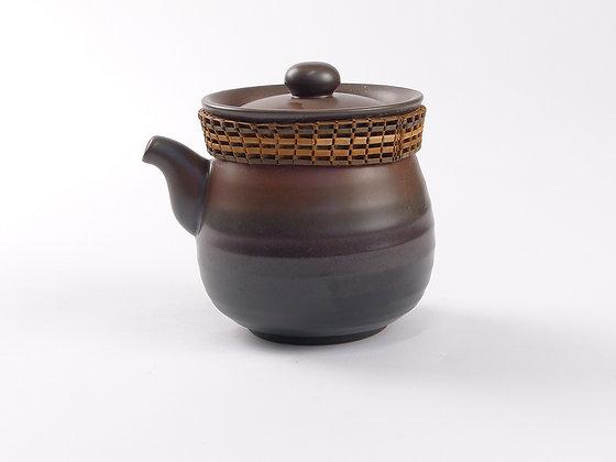 Ceramic Tea Pot K1 Brown/Red