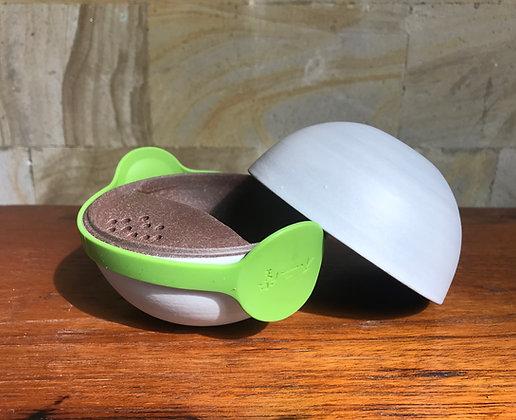 Ball-shaped purion teapot - grey (150ml)