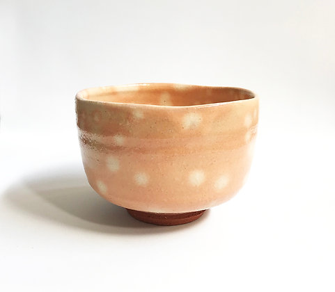 Chawan Pink Spotted