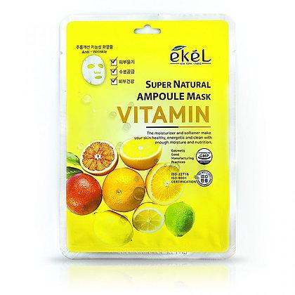 """EKEL """"Ampoule Mask Vitamin"""" Маска с витамином С, 25гр"""