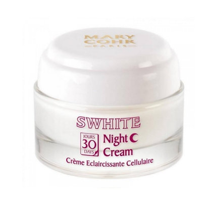 Mery Cohr, Swhite  Night Cream, azalee cosmetic shop, feuchtigkeits creme, naturkosmetik, anti aging creme, anti cellulite