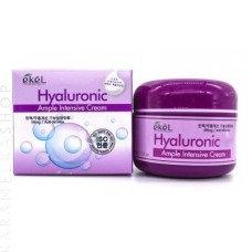 "EKEL ""Ampule Intensive Cream Hyaluronic Acid""Крем с гиалоурановой кислотой,100мл"
