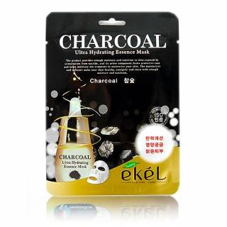"""EKEL """"Mask Pack Charcoal"""" Маска с древесным углем , 25гр."""