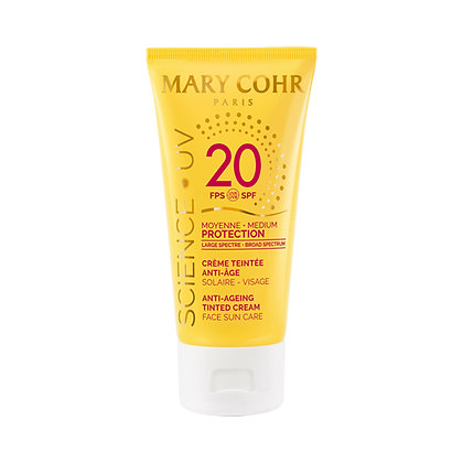 Mary Cohr, Creme Teintee Anti-Age SPF 20,