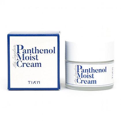 TIAM My Signature Panthenol Moist Cream Крем с легкой сливочной текстурой, 50мл.