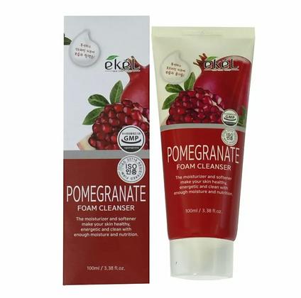 "EKEL ""Foam Cleanser Pomegranate"" Пенка для умывания с экстрактом граната , 100мл"