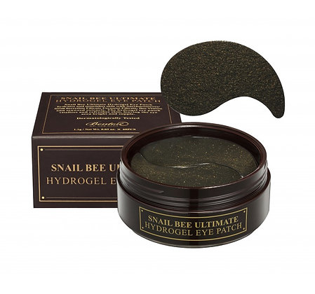 Benton, Snail Bee Ultimate Hydrogel Eye Patch, azalee cosmetic shop, feuchtigkeits creme, naturkosmetik, anti aging creme, an