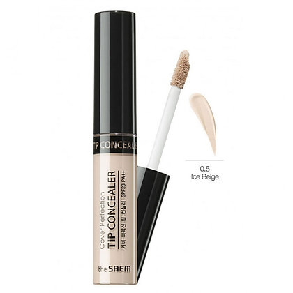 THE SAEM Cover Perfection Tip Concealer 0.5 Ice Beige Консилер 6.5 гр
