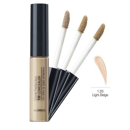 THE SAEM Cover Perfection Tip Concealer 1.25 Light Beige Консилер 6.5 гр