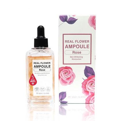 May Island RealFlower Ampoule Rose Осветляющая ампульная сыворотка с розой,100мл