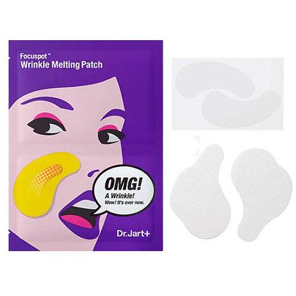 Dr Jart+ Focuspot Wrinkle Melting PatchЛифтинг-патчи для носогубных складок, корейская косметика оптом, Rich cosmetic