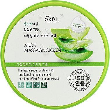 """EKEL """"Massge Cream Aloe"""" Массажный крем с экстрактом алоэ, 300мл."""
