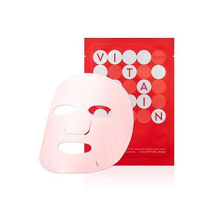 TIAM My Signature Vita Red Mask (10 Pack) Витамино-увлажняющая маска 10шт. 23мл.