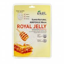 "EKEL ""Ampoule Mask Royal Jelly"" Маска с экстрактом маточного молочка, 25гр."