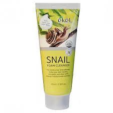 "EKEL ""Foam Cleanser Snail"" Пенка для умывания с муцином улитки, 100мл."