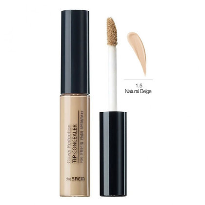 THE SAEM Cover Perfection Tip Concealer 1.5 Natural Beige Консилер 6.5 гр
