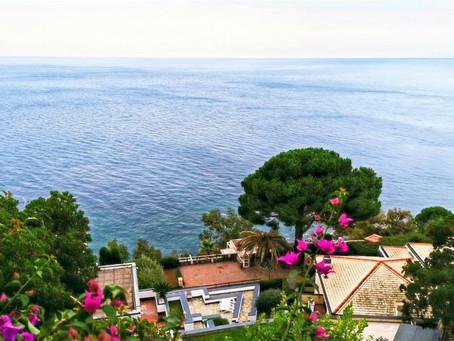 Йога тур в Аренцано, Лигурия, Италия. Вилла над морем.
