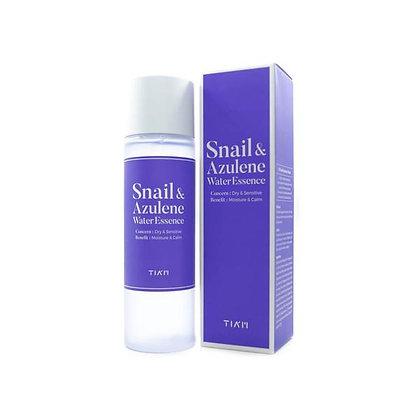 TIAM Snail&Azulene WaterEssence Эссенция  с муцином улитки и азуленом180мл.244гр