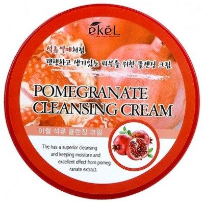 "EKEL ""Cleansing Cream Pomegranate"" Очищающий крем с экстрактом граната, 300мл."