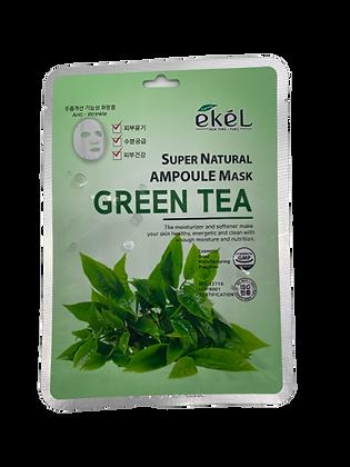 "EKEL ""Ampoule Mask Green Tea"" Маска с экстрактом зеленого чая, 25гр."