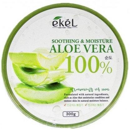 "EKEL ""Soothing Aloe"" Увлажняющий гель с экстрактом алоэ, 300мл."