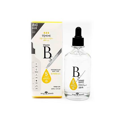 May Island B5 Vitamin Source Высококонцентрированная сыворотка с  B5, 100мл