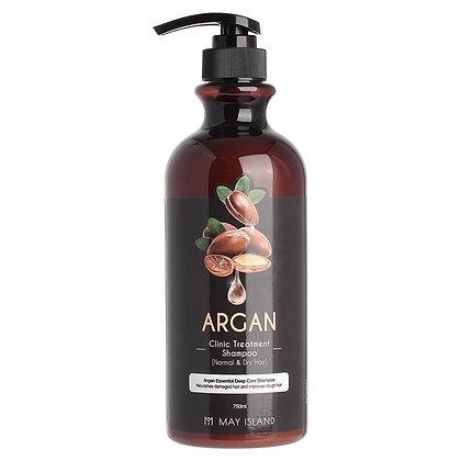 May Island argan clinic treatment shampoo Шампунь с аргановым маслом, 750мл.