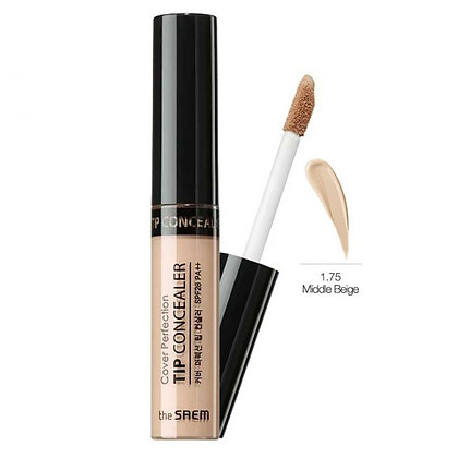 THE SAEM Cover Perfection Tip Concealer 1.75 Middle Beige Консилер 6.5 гр