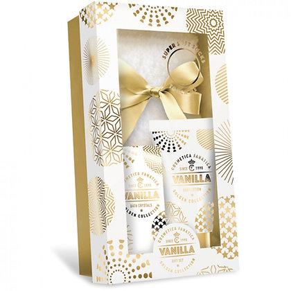 Geschenkset Gold-Vanilla 3-teilig