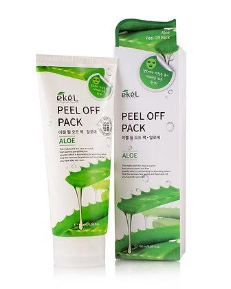 "EKEL ""Peel off pack Aloe"" Маска-пленка с алоэ, 180мл."