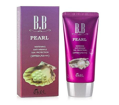 "EKEL ""BB Cream (Tube) Pearl"" с экстрактом жемчуга, 50мл."