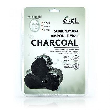"""EKEL """"Ampoule Mask Charcoal"""" Маска с древесным углем, 25гр."""