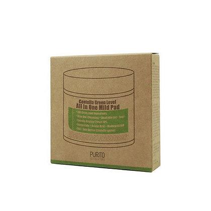 PURITO Centella GreenLevel All In One Mild Pad 10EA(travel size)Пилинг диски10шт