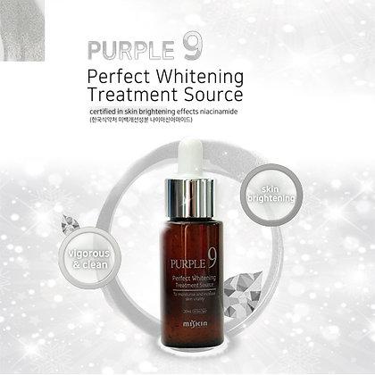 "Miskin ""PURPLE9 Perfect Whitening Treatment Source"", 30мл. 55гр"