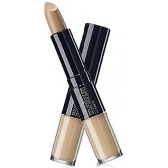 THE SAEM Cover Perfection Ideal Concealer Duo 1.5 Natural Beige Двойной консилер