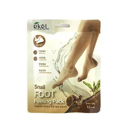 "EKEL ""Foot Peeling Pack Snail"" Пилингующие носки для стоп с муцином улитки, 40гр"
