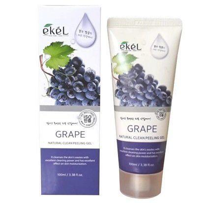 "EKEL ""Peeling Gel Grape"" Пилинг-гель для лица Виноград, 100мл."