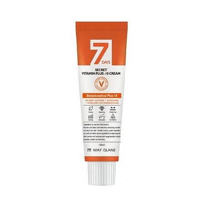 May Island Seven Days Secret Vita Plus-10 Cream Витаминизированный крем, 50мл.