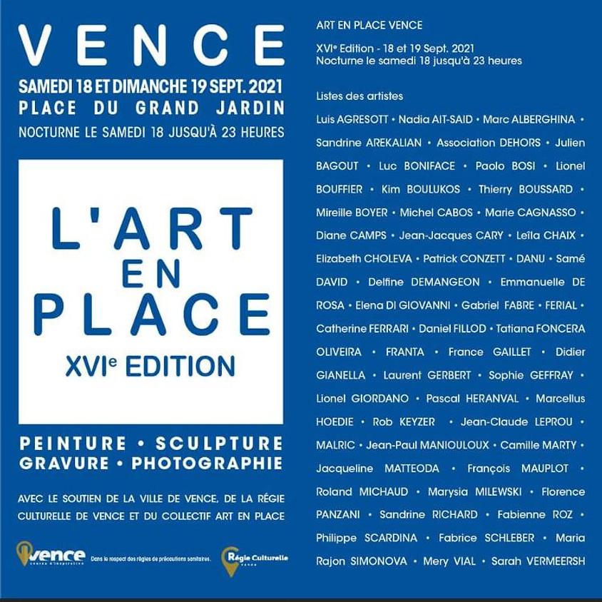L'ART EN PLACE ХVI