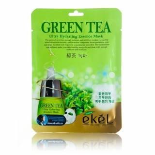 "EKEL ""Mask Pack Green Tea"" Маска с экстрактом зеленого чая, 25гр."