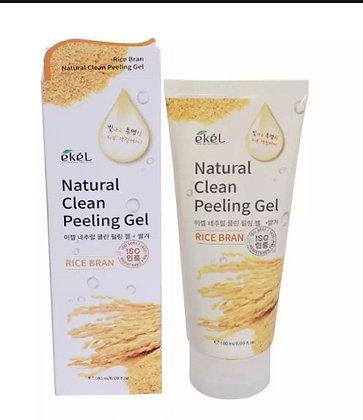 """EKEL """"Peeling Gel Rice Bran"""" Пилинг с экстрактом коричневого риса, 180мл."""