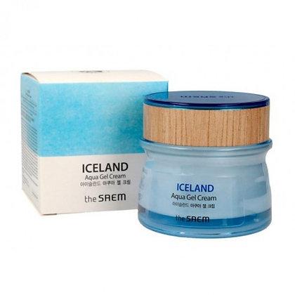 THE SAEM Iceland Aqua Gel Cream Гель-крем с минеральной водой Исландии, 60мл.