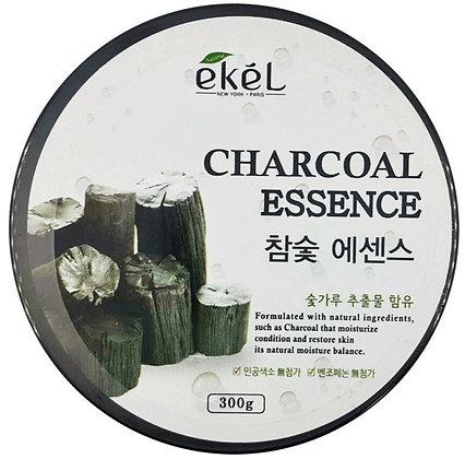 """EKEL """"Soothing Charcoal"""" Успокаивающий гель с древесным углем, 300мл."""