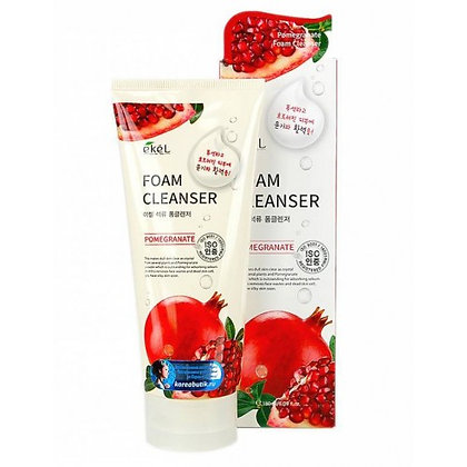 "EKEL ""Foam Cleanser Pomegranate"" Пенка для умывания с экстрактом граната, 180мл."